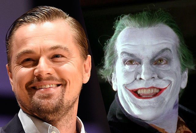 Leonardo DiCaprio als The Joker voor Warner Bros.