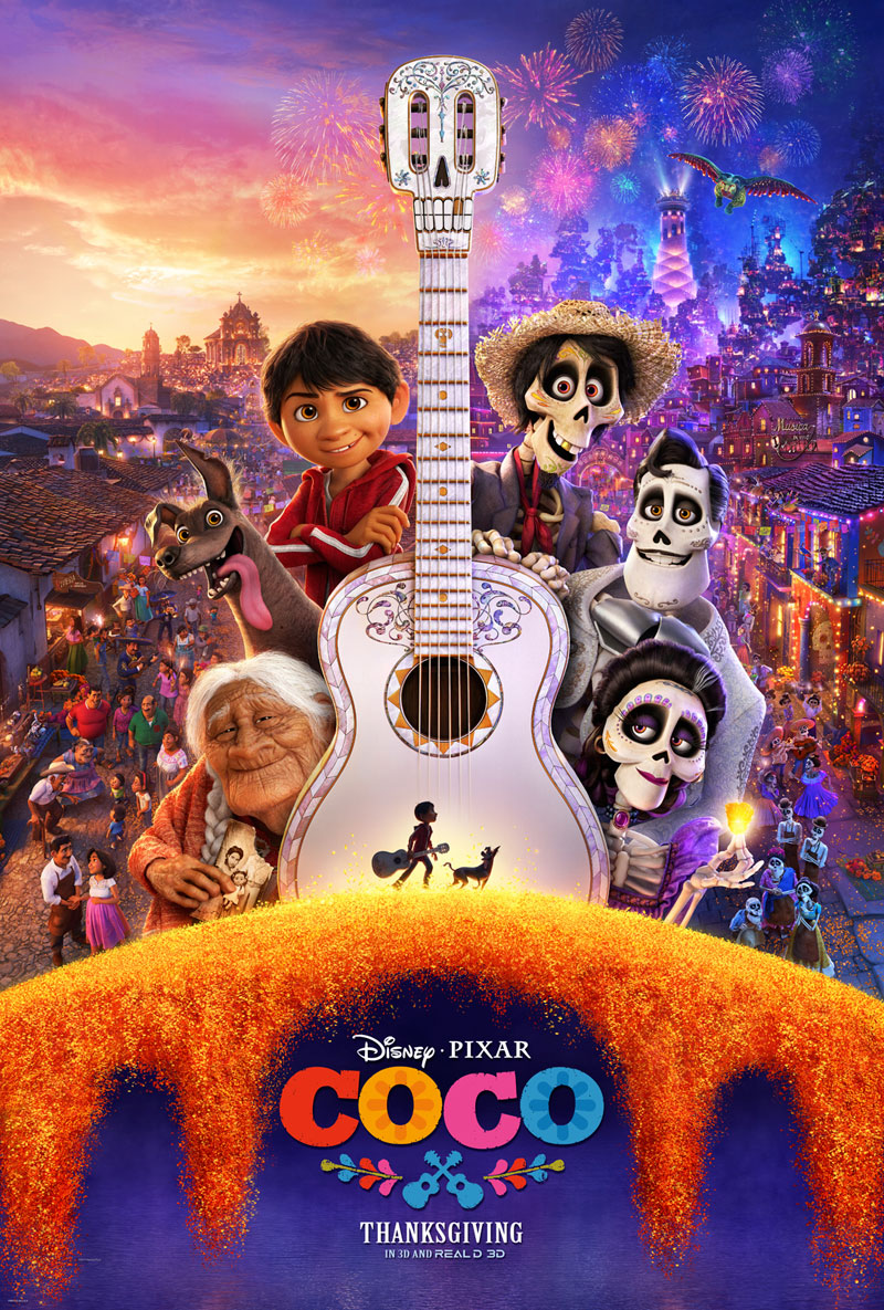 Nieuwe 'Day of the Dead' poster Disney & Pixar's Coco