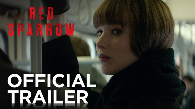 Eerste trailer Red Sparrow met Jennifer Lawrence als spion