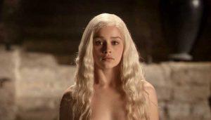 Emilia Clarke Game of Thrones naakt
