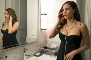 Jessica Chastain in Nederland voor filmpremière Molly's Game