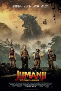 Nieuwe Jumanji: Welcome to the Jungle personage posters