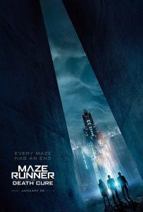 Nieuwe posters voor Maze Runner: The Death Cure
