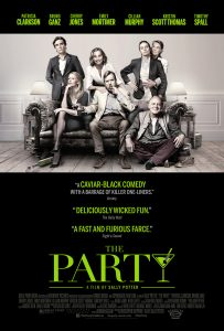 The Party trailer met Kristen Scott Thomas en Timothy Spall