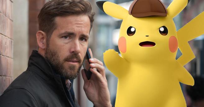 Ryan Reynolds hoofdrol in Pokémon film Detective Pikachu