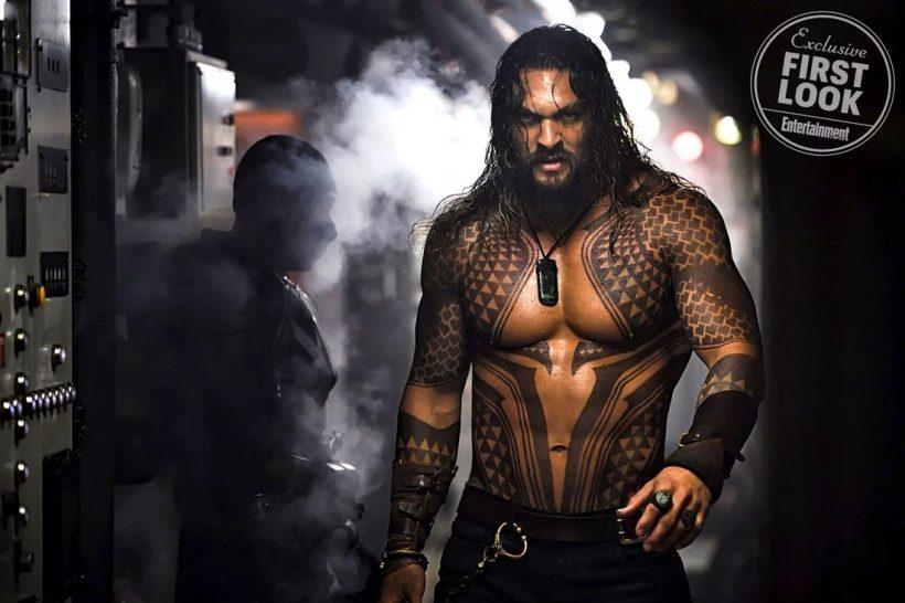 Eerste officiële foto Aquaman