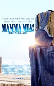 Mamma Mia! Here We Go Again poster en featurette