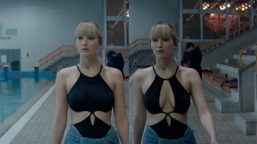 Borsten Jennifer Lawrence gecensureerd in Red Sparrow trailer