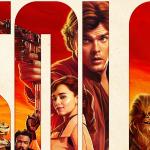 De crew verzameld op nieuwe Solo: A Star Wars Story poster