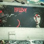 Eerste banner voor Hellboy