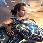 Eerste poster sci-fi familie film A.X.L.