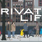 Poster voor Netflix's Private Life van cartoonist Chris Ware