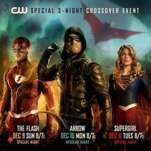 Arrow en Supergirl crossover