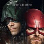 Poster voor The CW's superhelden cross-over Elseworlds