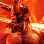 Officiële poster Hellboy met David Harbour