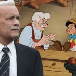 Tom Hanks als Geppetto in Disney's Pinocchio remake