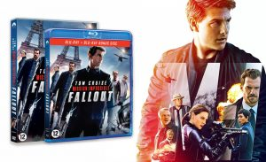 Mission: Impossible - Fallout blu-ray/DVD
