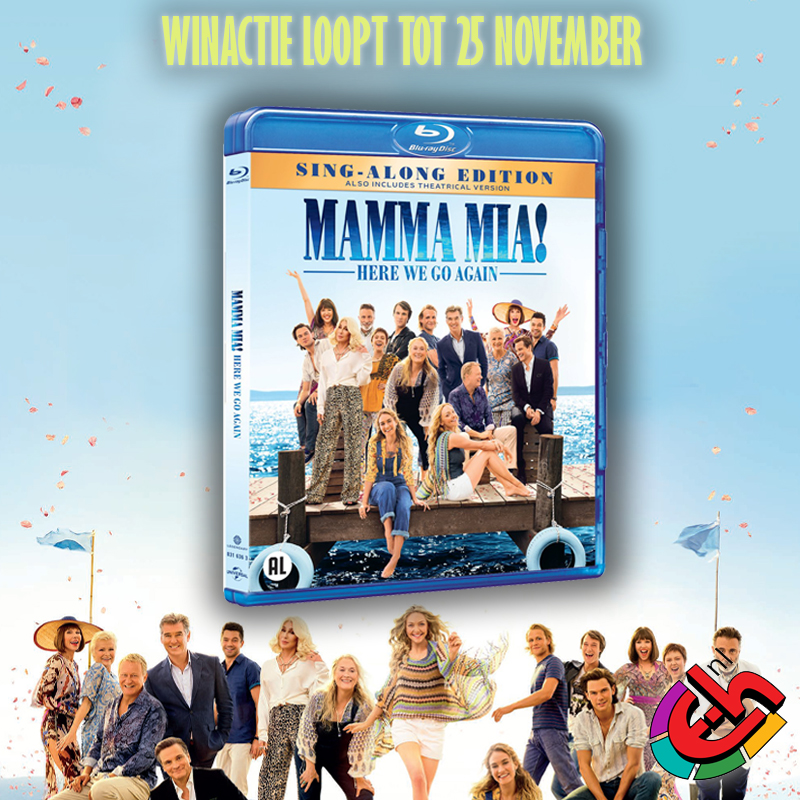Mamma Mia! Here We Go Again blu-ray