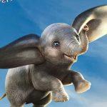 Dumbo vliegt hoog op nieuwe internationale poster