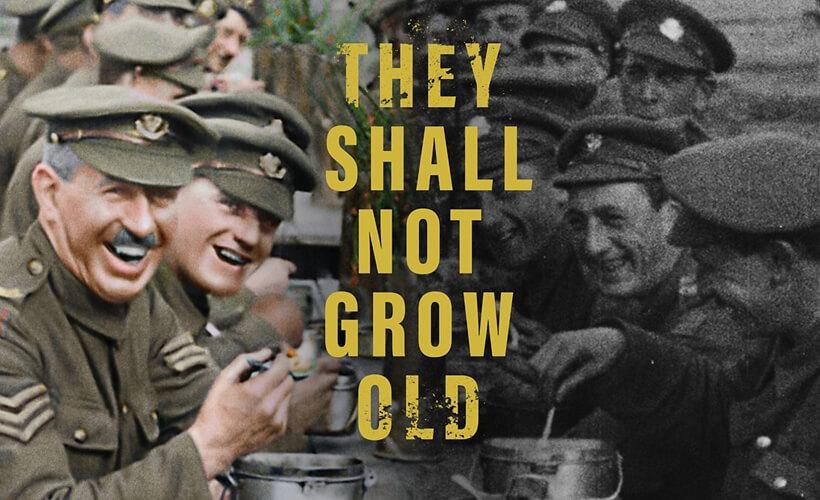 OVERZICHT | Filmevenementen | Week #05 | They shall not grow old