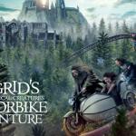 Universal Orlandoopent Hagrid's Magical Creatures Motorbike Adventure