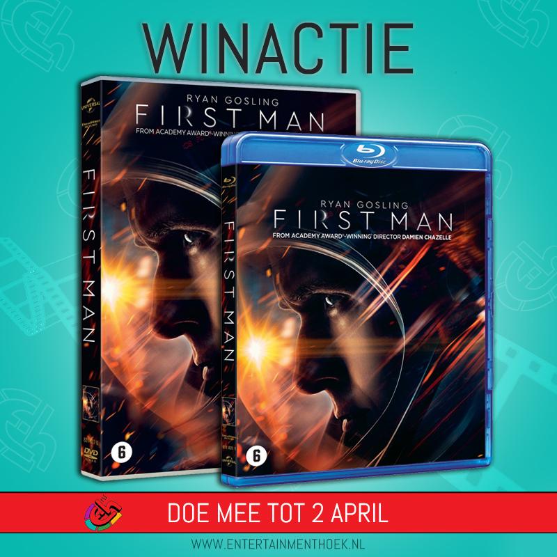 First Man DVD/blu ray
