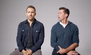 Ryan Reynolds en Hugh Jackman