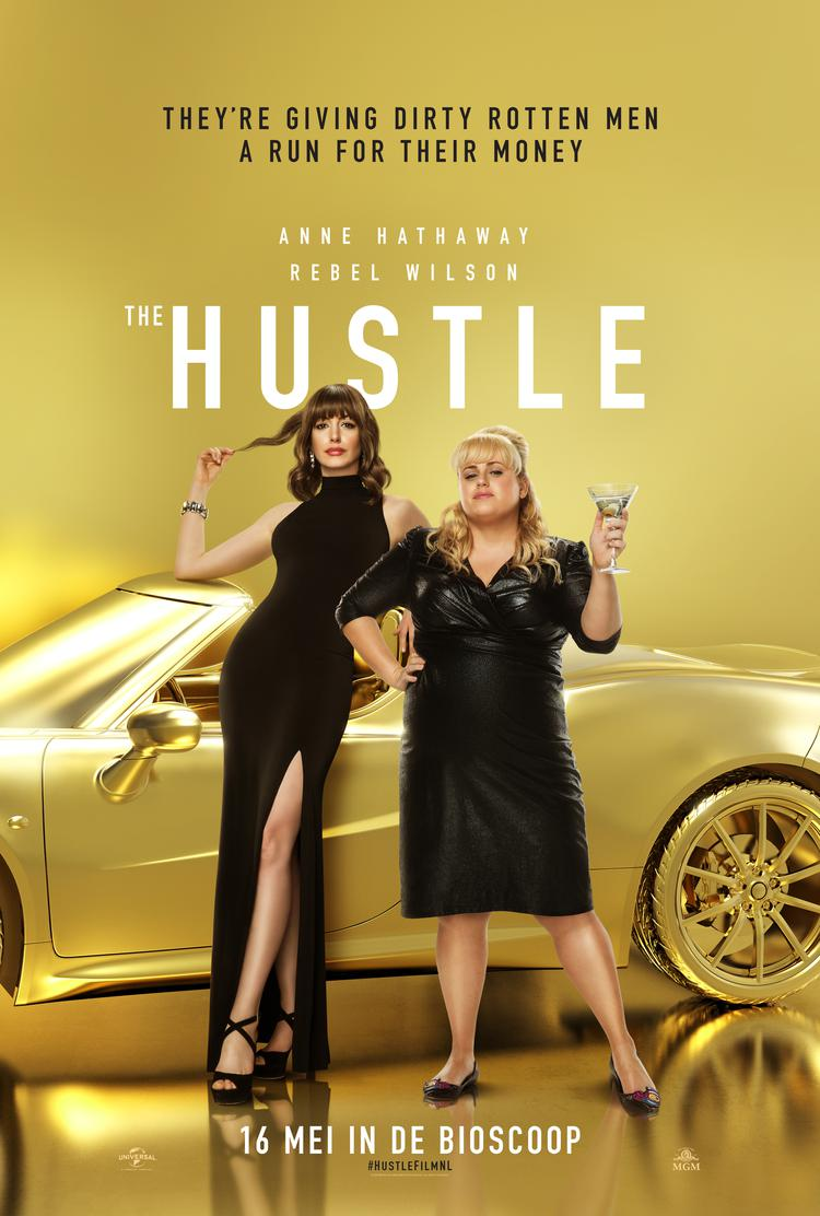 The Hustle met Anne Hathaway & Rebel Wilson