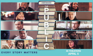 Emilio Estevez's The Public