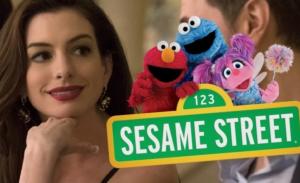 Sesamstraat-film met Anne Hathaway