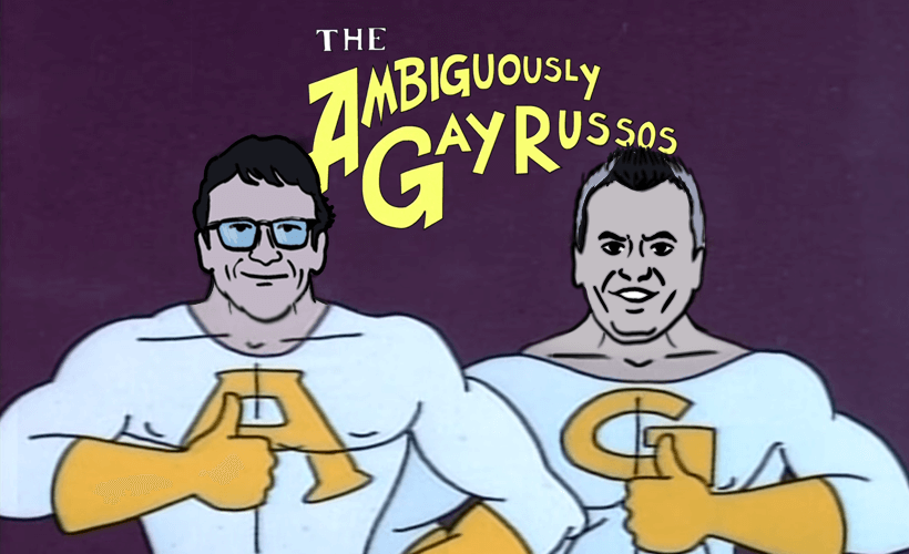 Wanneer zien wij een gay superheld? - The Ambiguously gay Duo - Russo brothers