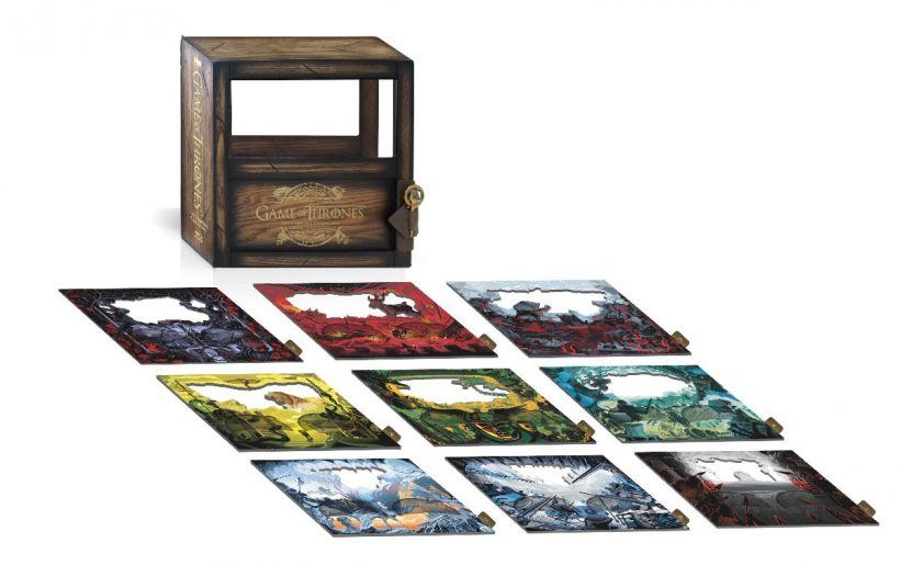Game Of Thrones: The Complete Collection aan op blu-ray