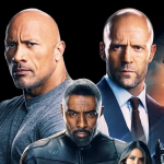 Internationale poster voor Hobbs & Shaw