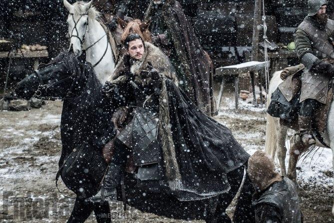 Nieuwe foto's Game of Thrones seizoen 7