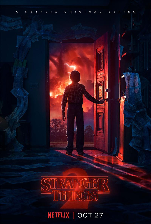 Nieuwe poster Stranger Things seizoen 2