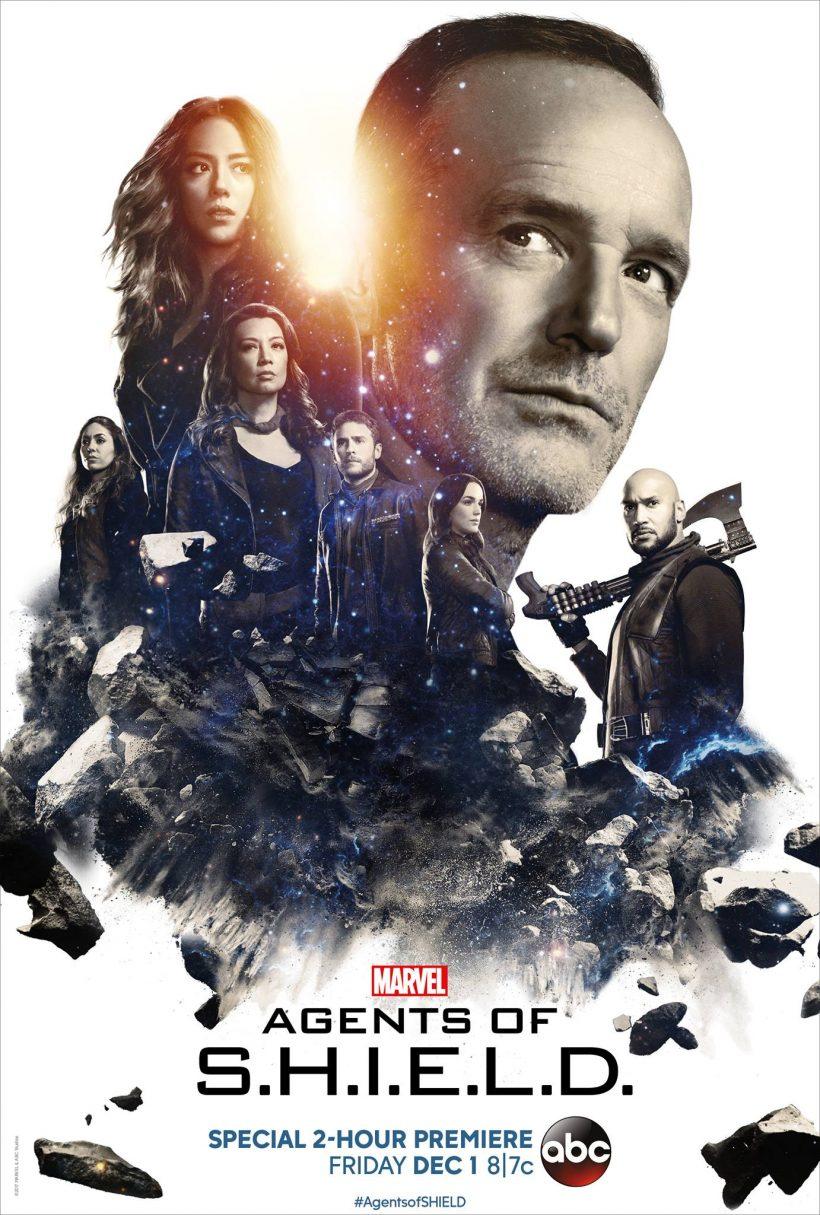 Nieuwe poster Agents of S.H.I.E.L.D. seizoen 5