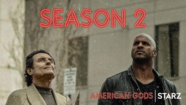 American Gods krijgt tweede seizoen