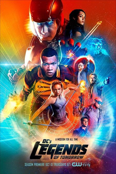 DC's Legends of Tomorrow seizoen 2 poster