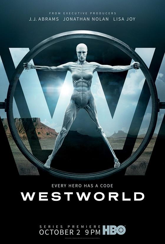 Eerste poster HBO's Westworld