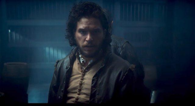 Teaser voor BBC's Gunpowder met Kit Harington
