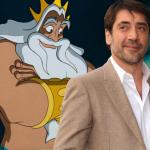 Javier Bardem in als King Triton in Disney's The Little Mermaid?