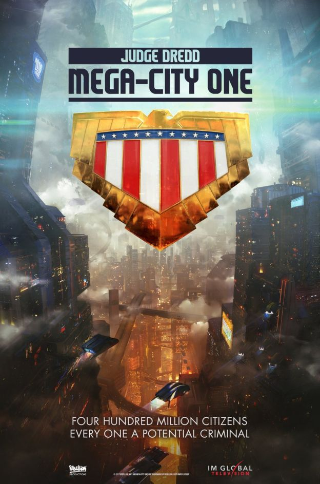 Judge Dredd krijgt eigen tv-serie