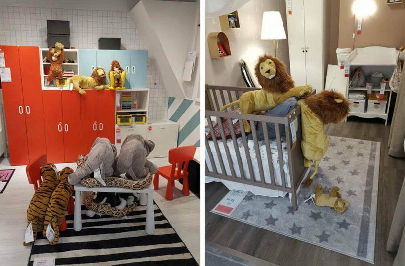 Ondertussen in IKEA. #WelmijnLionKing