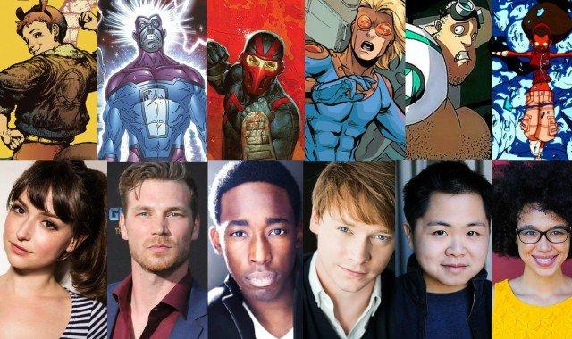 Cast van Marvel's New Warriors