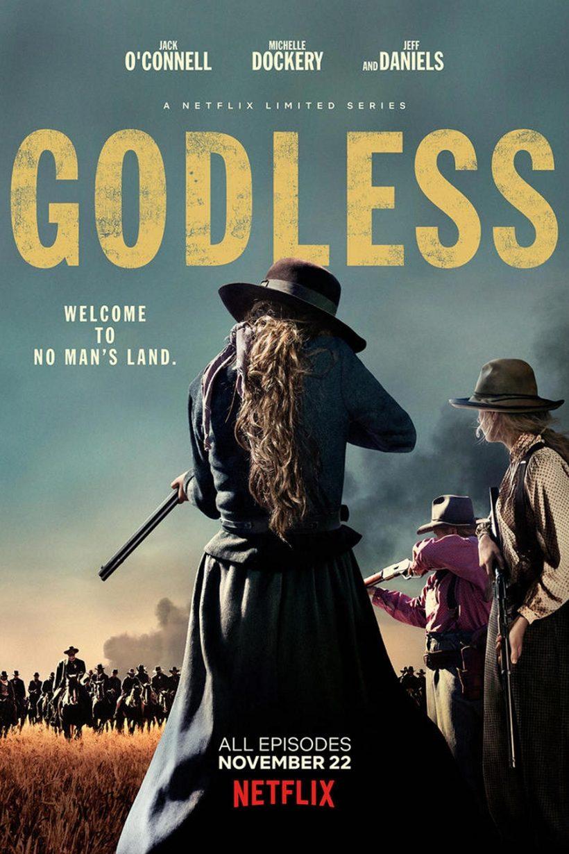 Nieuwe trailer Netflix's Godless