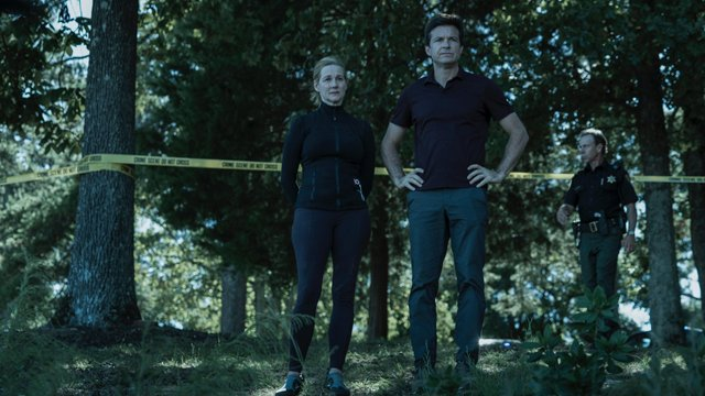 Jason Bateman en Laura Linney in Ozark trailer