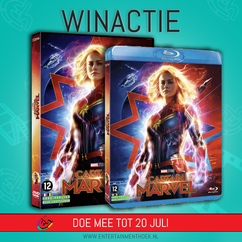Captain Marvel DVD/blu-ray