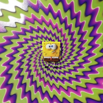 Trippy poster voor The SpongeBob Movie: It's a Wonderful Sponge