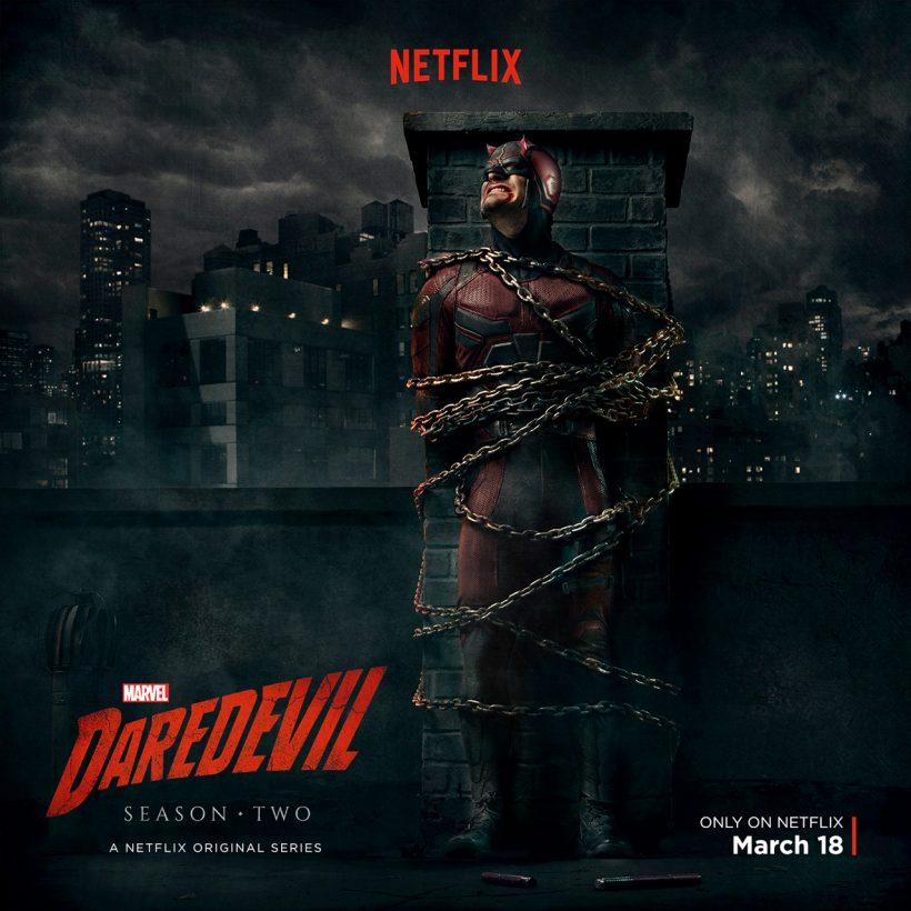 Punisher foto's uit Daredevil seizoen 2