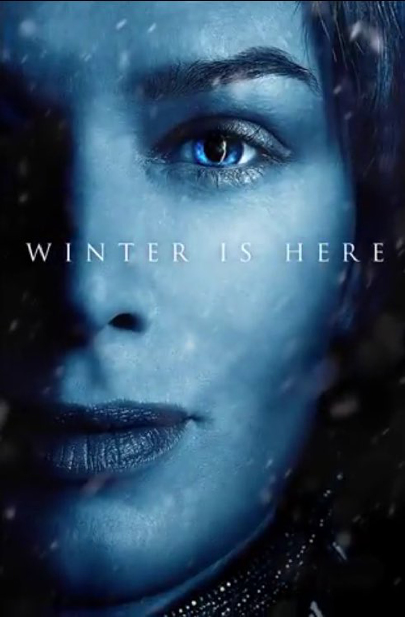 Winter is hier met 12 Game of Thrones seizoen 7 posters